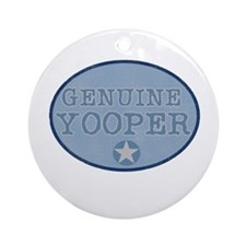 Genuine Yooper Ornament (Round)