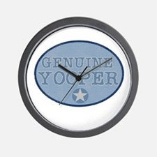 Genuine Yooper Wall Clock