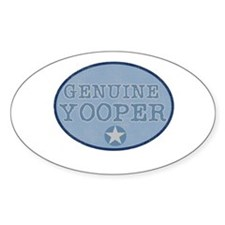Genuine Yooper Oval Decal