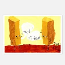 Small! Fries! Postcards (Package of 8)