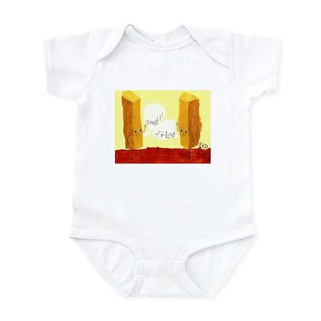 Small! Fries! Infant Bodysuit