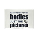 """""""Just the Pictures"""" Rectangle Magnet (100 pack)"""