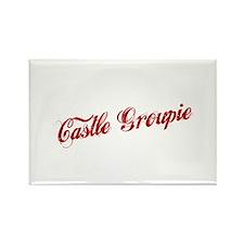 """Castle Groupie"" Rectangle Magnet"