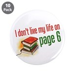 """""""Page Six"""" 3.5"""" Button (10 pack)"""