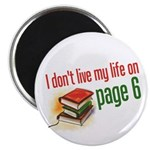 """""""Page Six"""" 2.25"""" Magnet (100 pack)"""