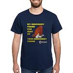 My Imaginary Friend Can Beat Dark T-Shirt