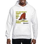 My Imaginary Friend Can Beat Hooded Sweatshirt