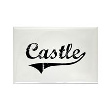 """Castle Team"" Rectangle Magnet"