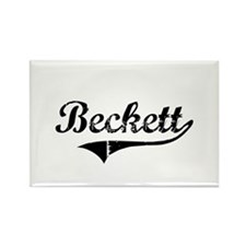 """Beckett Team"" Rectangle Magnet"