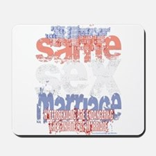 NEW!! Sanctity of Marriage Mousepad