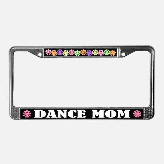 Dance Mom License Plate Frame