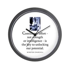 Continuous effort Wall Clock