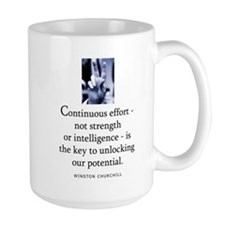 Continuous effort Mug