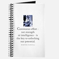 Continuous effort Journal