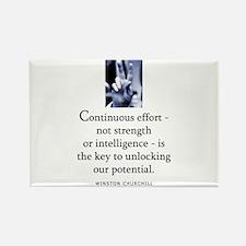 Continuous effort Rectangle Magnet