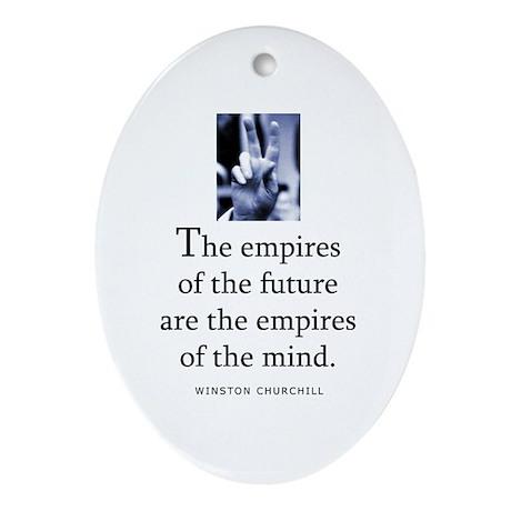 Empires of future Oval Ornament