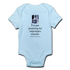 Impromptu remarks Infant Bodysuit