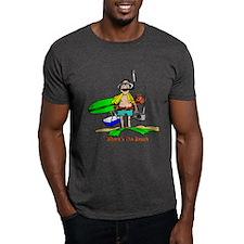 Where's The Beach T-Shirt