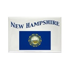 New Hampshire State Flag Rectangle Magnet