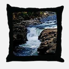 At The Falls Throw Pillow