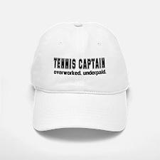 TENNIS CAPTAIN Baseball Baseball Cap