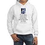 Out of alcohol Hooded Sweatshirt