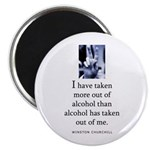 Out of alcohol Magnet