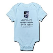 Takes courage Infant Bodysuit