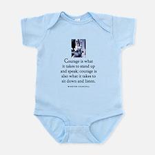 Takes courage Infant Bodysuit