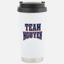Team Nguyen Custom Fan Stainless Steel Travel Mug