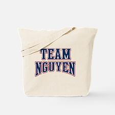 Team Nguyen Custom Fan Tote Bag