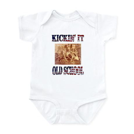 Kickin' It Old School - Tea P Infant Bodysuit