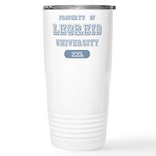 Property of Legreid University Travel Mug