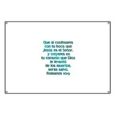 Romanos 10:9 Banner