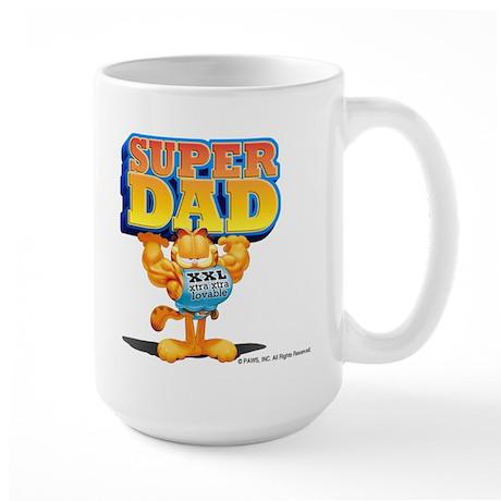 Super Dad Large Mug