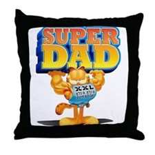 Super Dad Throw Pillow