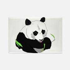 Panda Bear Rectangle Magnet