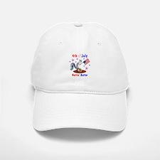 4th of July Baseball Baseball Cap