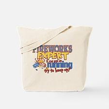 Fireworks Expert Tote Bag