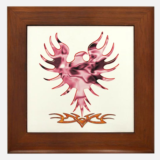 Rise From The Ashes Framed Tile