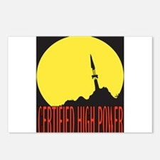 High Power Certified! Postcards (Package of 8)