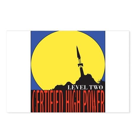 Certified High Power Level Tw Postcards (Package o