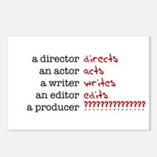 Film & TV Producer Postcards (Package of 8)
