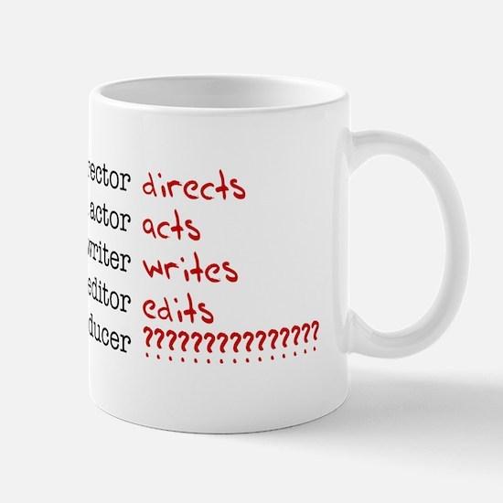 Film & TV Producer Mug