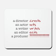 Film & TV Producer Mousepad