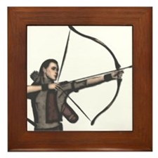 Elf Archer Framed Tile