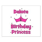 1st Birthday Princess Dakota! Small Poster