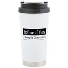 Mother Of Twins Stainless Steel Travel Mug