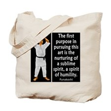 Shotokan Tote Bag