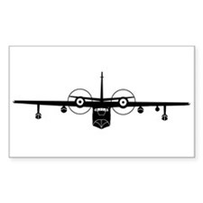 SA-16 Albatros Rectangle Sticker 10 pk)